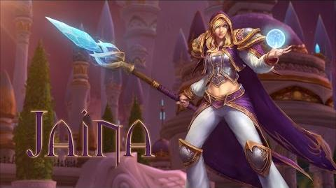 Heroes of the Storm Jaina Trailer
