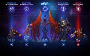 HOTS Commendations