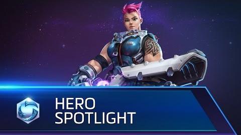 Zarya Spotlight – Heroes of the Storm