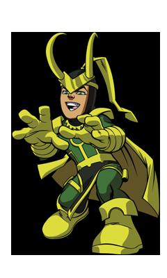 Loki Super Hero Squad Online