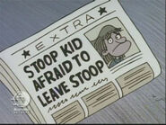 Newspaper of Stoop Kid