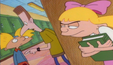 Helga spying on boys