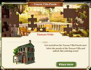 Puzzle Tuscan Villa-Teaser