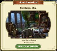 Scene Unlocked Immigrant Ship