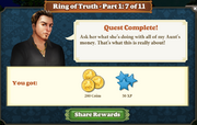 Quest Ring of Truth-Part One 7-Rewards