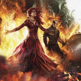 Melisandre y Stannis by Magali Villeneuve©.jpg
