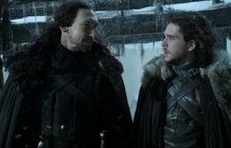 Jon Nieve y Benjen Stark HBO.jpg