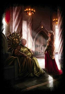 The meeting between Meria Martell and Rhaenys Targaryen by Magali Villeneuve©.jpg