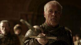 Barristan Selmy renunciado a la Guardia Real HBO.jpg