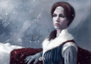 Catelyn Tully by Natascha Röösli, Fantasy Flight Games©