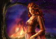 Melisandre by Henning Ludvigsen, Fantasy Flight Games©