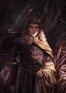 Rey Joffrey Baratheon by Magali Villeneuve©