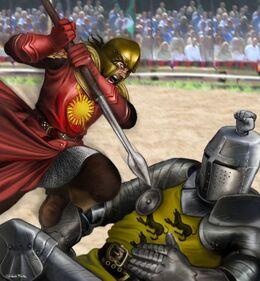 Oberyn fights Gregor Clegane by M.Luisa Giliberti©.jpg