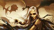 Fire and Blood by Tomasz Jedruzek, Fantasy Flight Games©