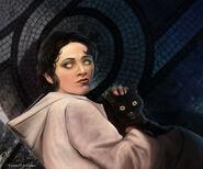 Arya Stark by Tiziano Baracchi, Fantasy Flight Games©