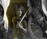 Arya Stark by Henning Ludvigsen, Fantasy Flight Games©
