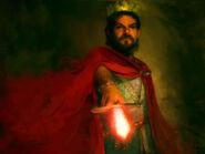 King Stannis Baratheon by Katherine Dinger, Fantasy Flight Games©