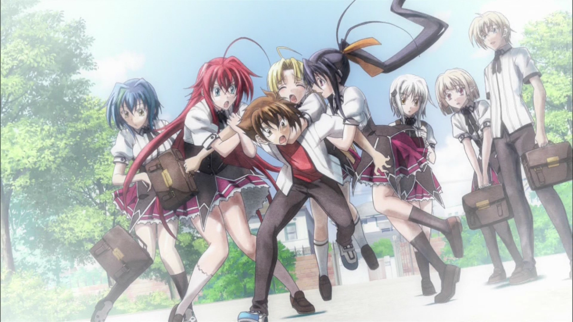 Group Of High School Dxd Wallpaper Hd