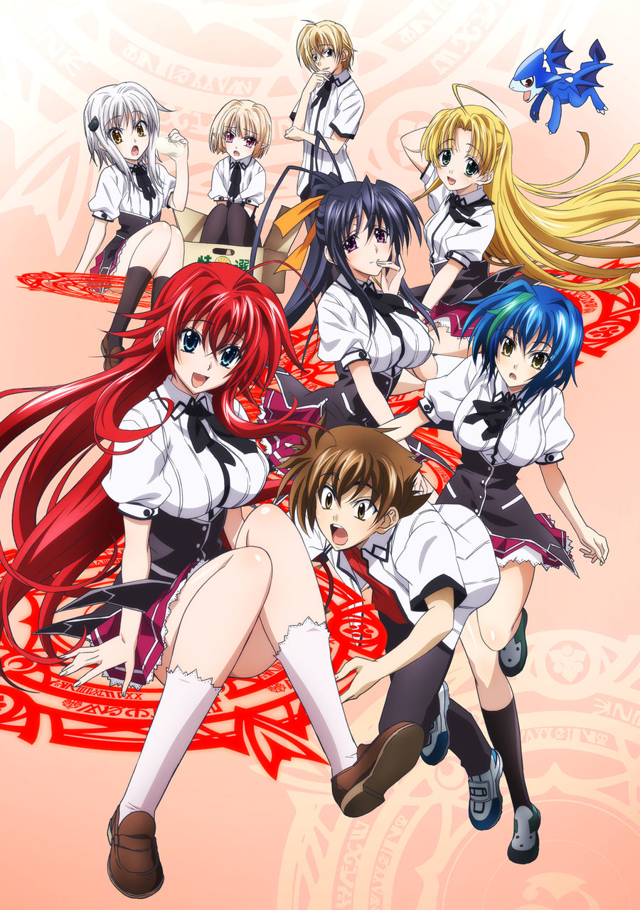 Locandina High School DXD New