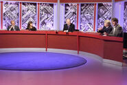 Ian Hislop, Claudia Winkleman, William Hague, Stanley Johnson and Paul Merton