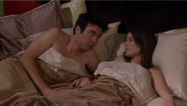 File:Benefits - ted and robin in bed.png