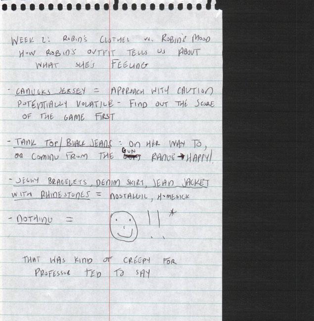 How i met your mother robin 101 barneys blog 2