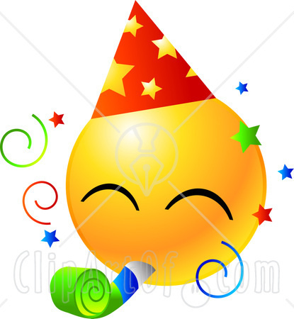 File:22160-Clipart-Illustration-Of-A-Yellow-Emoticon-Face-Wearing-A-Party-Hat-And-Blowing-On-A-Noise-Maker-At-A-Party.jpg