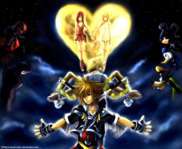 File:Kingdom Hearts II Complete by mandi chan.jpg