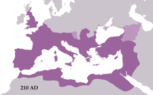 Roman Empire-210AD