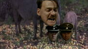 Hitler, Kempka and Högl hogs
