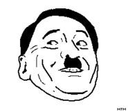 Hitler rage face by MTM