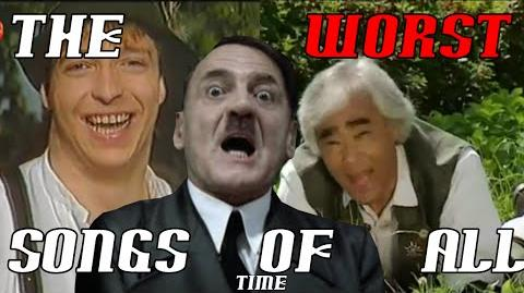 Hitler reacts to the worst German songs ever (Die Woodys - Fichtl's Lied and more)