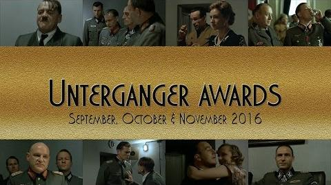 Unterganger Awards - September, October & November 2016 Read the description!