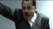 Hitler screaming