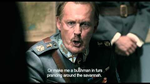 Helsinki Intl Film Festival 2014 trailer Mannerheim finds out ENGLISH SUBS