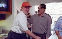 Trump gropes Hitler
