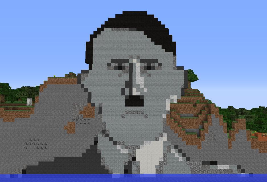 Image Ums Hitler Pixel Art Png Hitler Parody Wiki