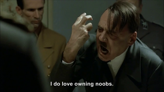 Hitler rants about PSN being hacked
