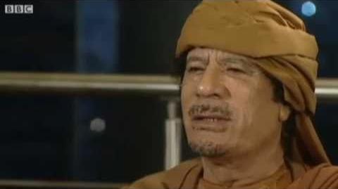 Hitler interviews Gaddafi