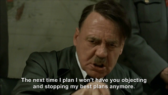 Hitler plans to replace Jodl
