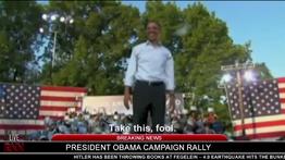 Hitler throws book at President Obama