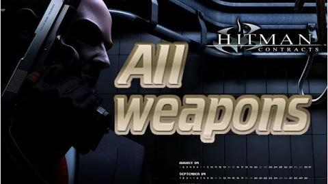 Hitman Contracts - All Weapons with Kills