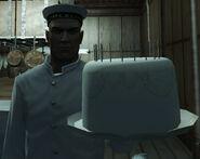 47 Bakes a cake