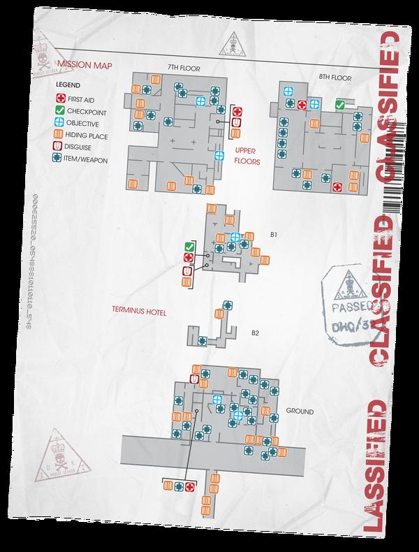 Terminus Overhead Map