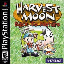 Harvest Moon Back To Nature front