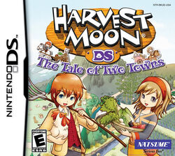 Harvest Moon The Tale of Two Towns Boxart