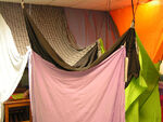 The fort in all its sheet glory