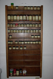 My new mega-spice rack