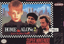 Home Alone 2 Snes Cover