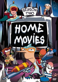 Home Movies s2 dvd cover
